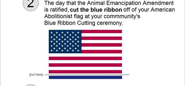 Abolition | American Animal Emancipation flag